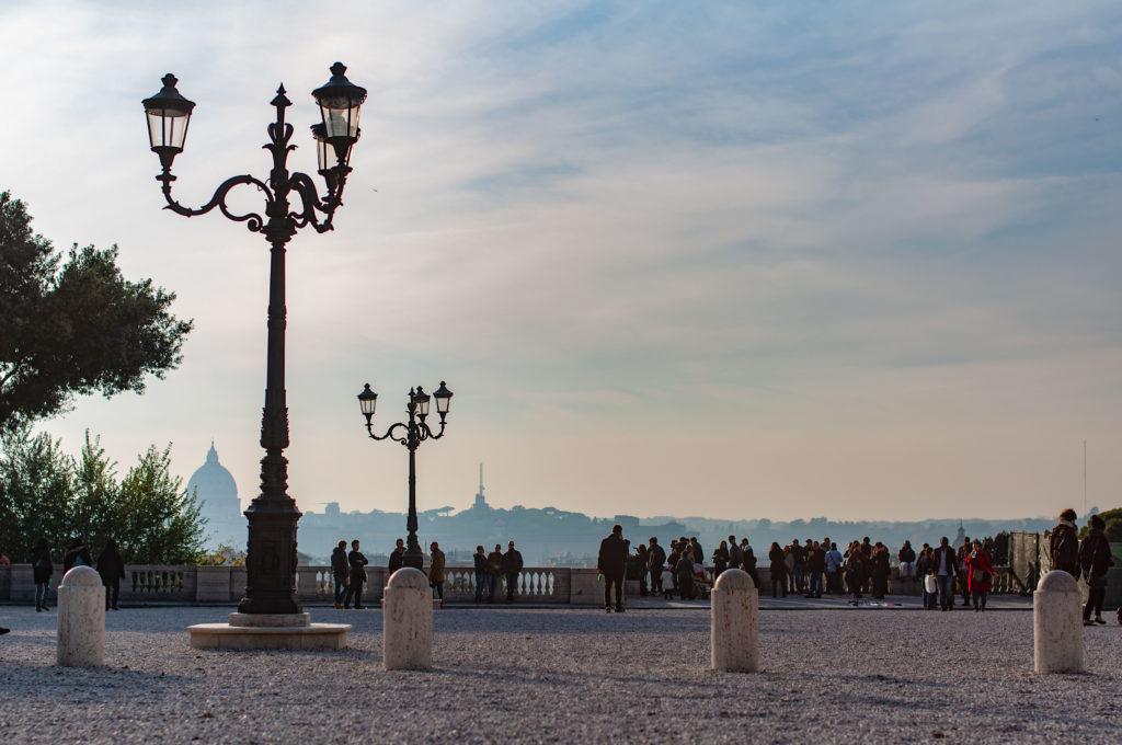 Vista Dalla Terrazza Del Pincio Villa Borghese Roma Dixit