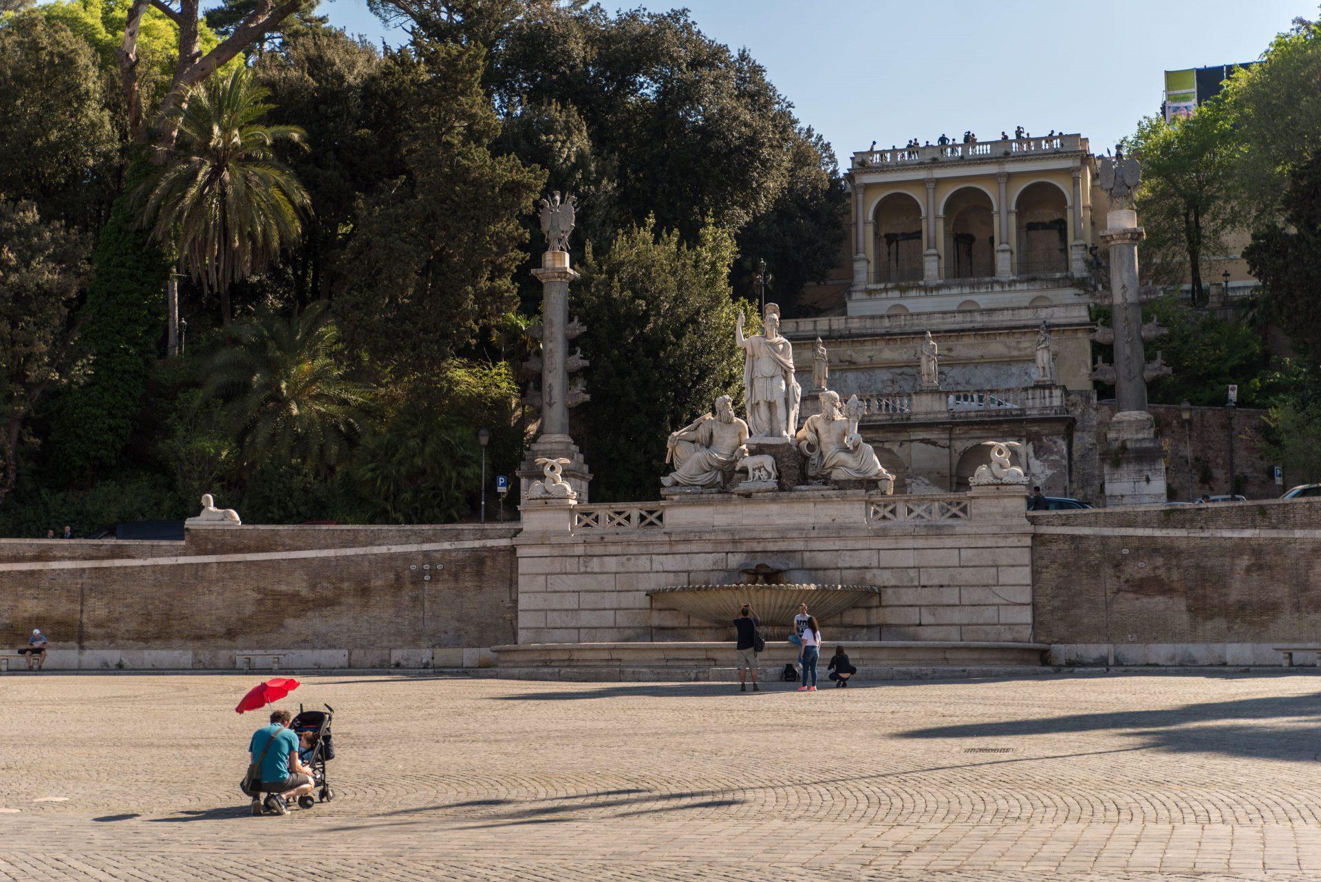 Terrazza del Pincio, Villa Borghese